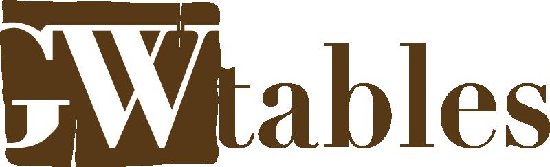 GW Tables tavoli in legno massiccio