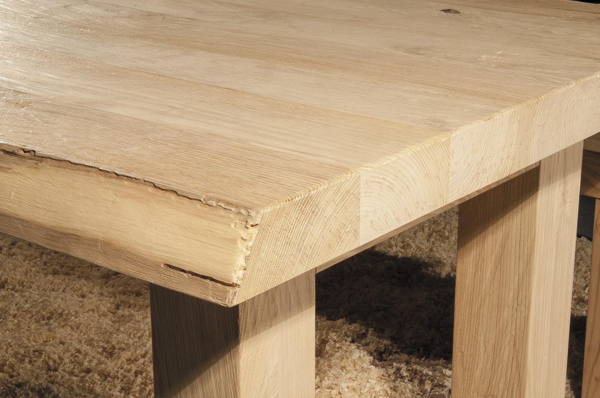 solid wood table Corteccia - GWtables