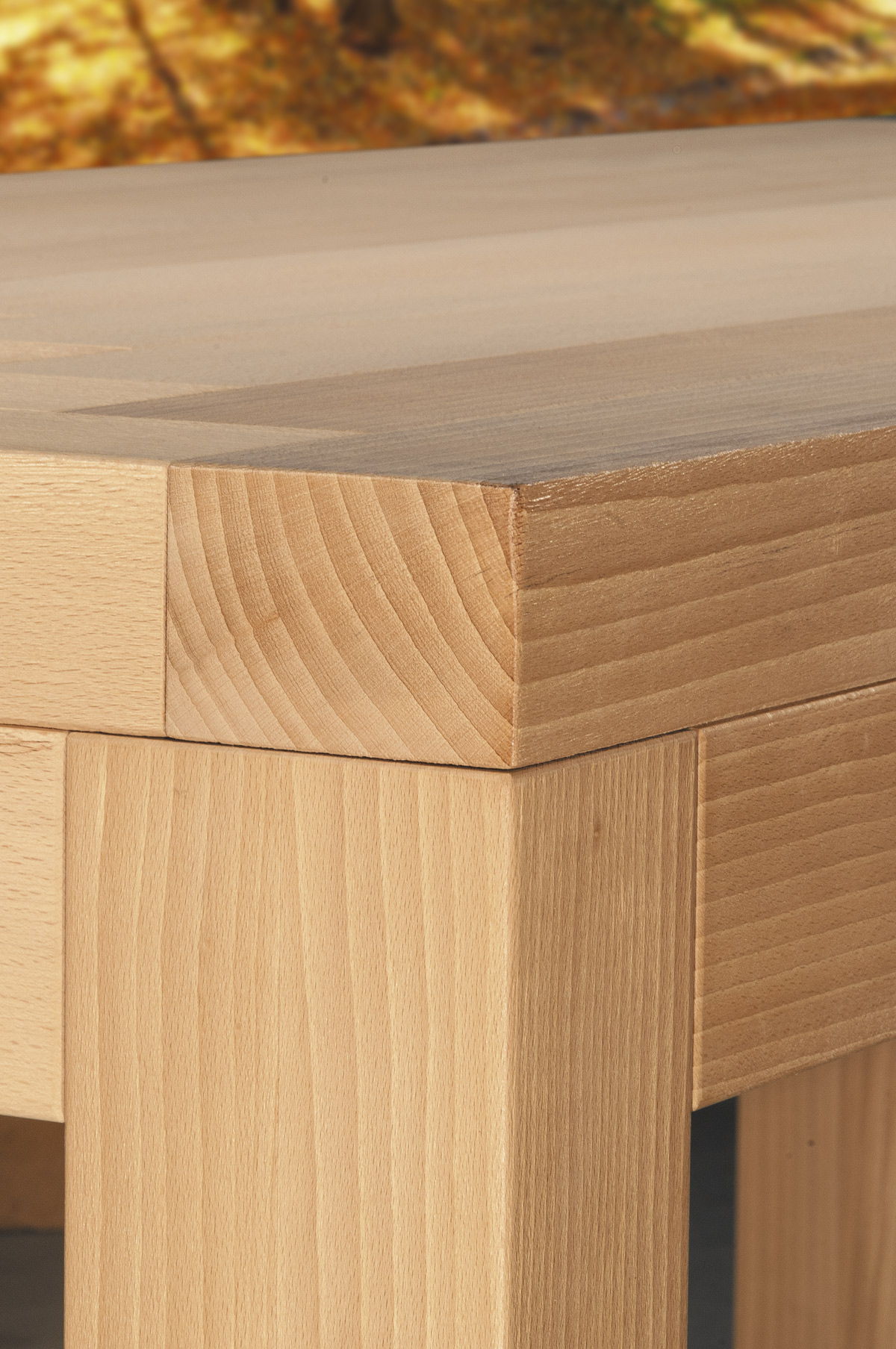 tavolo in legno massiccio massello - solid wood table Osiride GWtables
