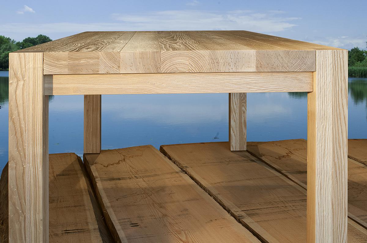 tavolo in legno massiccio massello Denver II - GWtables