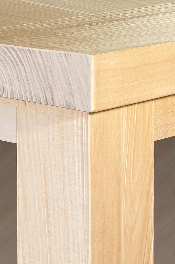 tavolo in legno massiccio massello Engraved - GWtables