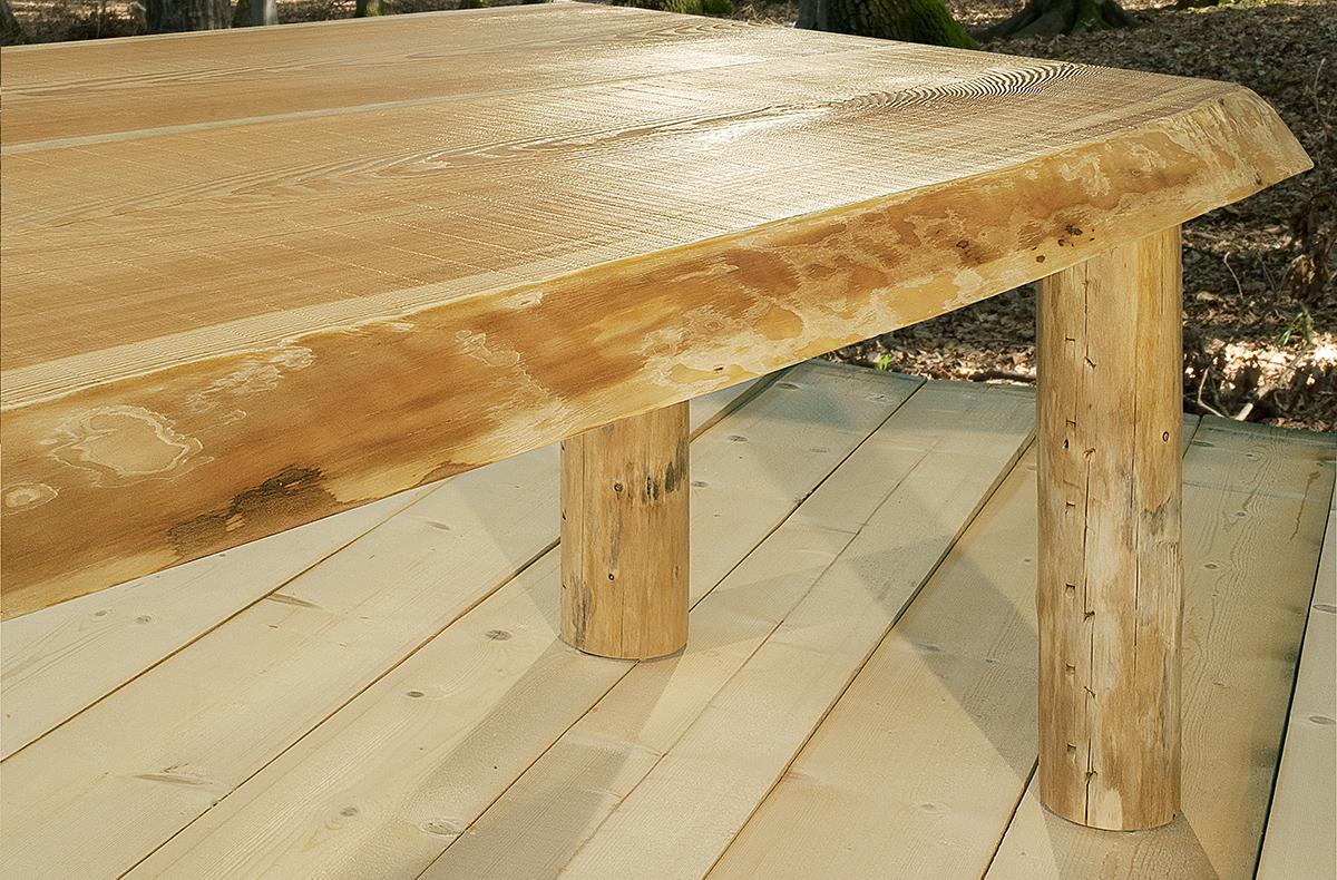 tavolo in legno massiccio massello - Present-Past GWtables